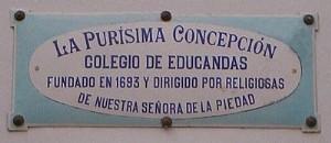 Placa-Colegio